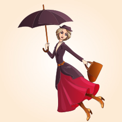Mary Poppins by P.L. Travers and Julia Sarda