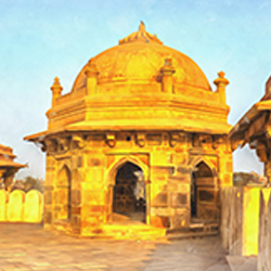 The Tomb Of Sher Shah Suri