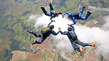 5 Sky Diving Spots In India