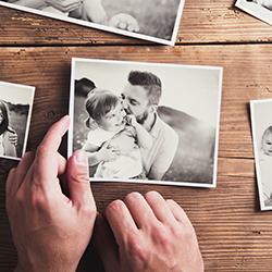 Recreate family photos
