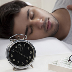 Get more rest and sleep