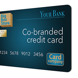 Co-brand credit cards