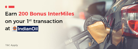 Earn 200 Bonus InterMiles on your 1st ever transaction at IOCL