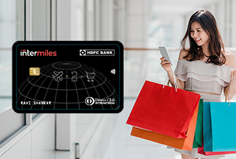 Earn up to 20,000 InterMiles with our HDFC co-branded cards
