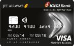 Jet Airways ICICI Bank Business Advantage Card